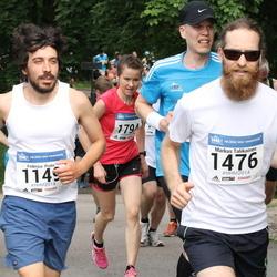 Helsinki Half Marathon - Federico Prato (1149), Markus Talikainen (1476)
