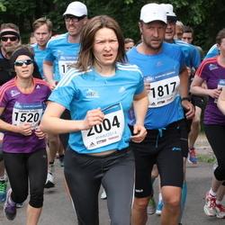 Helsinki Half Marathon - Johanna Tonttila (1520), Petri Maunula (1817), Eliisa Mäkelä (2004)