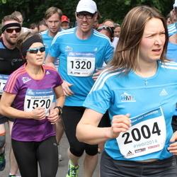 Helsinki Half Marathon - Jaakko Salo (1320), Johanna Tonttila (1520), Eliisa Mäkelä (2004)