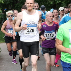 Helsinki Half Marathon - Pekka Karjalainen (520), Laura Kunnas (668), Taru Rikkonen (1230)
