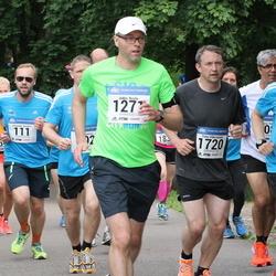Helsinki Half Marathon - Hannu Lahtinen (713), Jukka Rusila (1271), Timo Väkeväinen (1720)