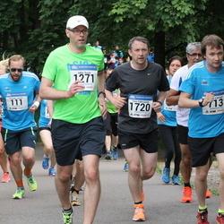 Helsinki Half Marathon - Alexander Benders (111), Hannu Lahtinen (713), Maija Päivinen (1175), Jukka Rusila (1271), Timo Väkeväinen (1720)
