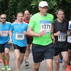 Helsinki Half Marathon - Alexander Benders (111), Ari Kanerva (502), Jukka Rusila (1271), Timo Väkeväinen (1720)