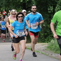Helsinki Half Marathon - Oguzhan Gencoglu (208), Kaarina Sironen (1387), Janne Stude (1427)