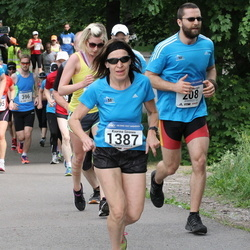 Helsinki Half Marathon - Oguzhan Gencoglu (208), Kaarina Sironen (1387)
