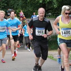 Helsinki Half Marathon - Pekka Miettinen (903), Lia Smagin (1400), Markus Tassia (1488)