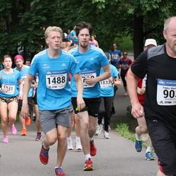 Helsinki Half Marathon - Pekka Miettinen (903), Markus Tassia (1488), Juho Änkiläinen (1738)