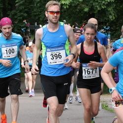 Helsinki Half Marathon - Aki Aunala (100), Kristian Svensson (396), Lillemor Winqvist (1677)