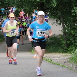 Helsinki Half Marathon - Maarit Viljakainen (1668), Pirjo Heiskanen (1758), Todd Andresen (1918)