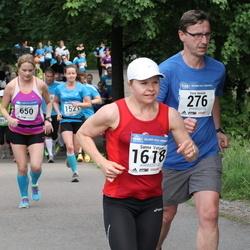 Helsinki Half Marathon - Eero Heinilä (276), Sanna Vatjus (1618)