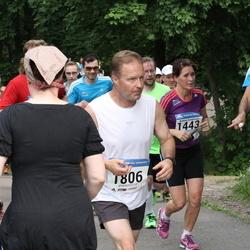Helsinki Half Marathon - Pete Morris (916), Bettina Sundström (1443), Kari Leivonen (1806)
