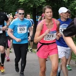 Helsinki Half Marathon - Antti Keränen (553), Emmi Lehtonen (771), Wille Wahlberg (1576)