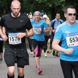 Helsinki Half Marathon - Antti Keränen (553), Wille Wahlberg (1576)