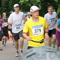 Helsinki Half Marathon - Harry Hyttinen (379), Mikko Kiviluoma (579), Greg Martin (865)