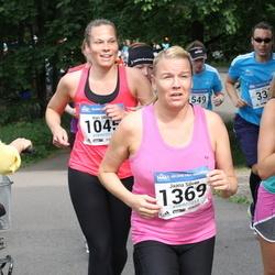 Helsinki Half Marathon - Mari Ollila (1045), Jaana Silvan (1369), Eveliina Silvan (1370)