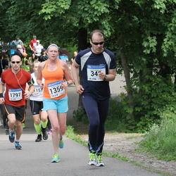 Helsinki Half Marathon - Lasse Holopainen (342), Cynthia Shettle (1359), Ville Lamminen (1797)
