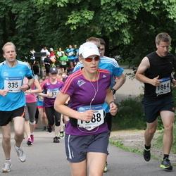 Helsinki Half Marathon - Olli Hokkanen (335), Asta Valkiainen (1588), Tom Sanden (1864)