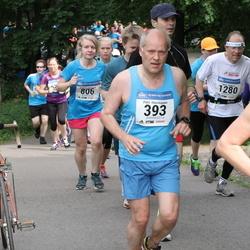Helsinki Half Marathon - Petri Hämäläinen (393), Matti Rytkölä (1280)