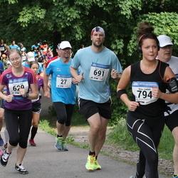 Helsinki Half Marathon - Mika Ahola (27), Sonja Koskela (629), Taneli Känsälä (691), Nina Lindahl (794), Sini Rimpiläinen (1231)