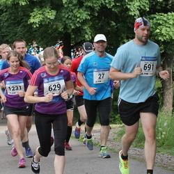 Helsinki Half Marathon - Mika Ahola (27), Sonja Koskela (629), Taneli Känsälä (691), Sini Rimpiläinen (1231)