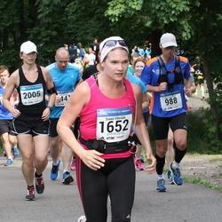 Helsinki Half Marathon - Wim Noordhoff (988), Sanni Vihriälä (1652), Kaisa Kirjola (2005)
