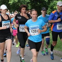 Helsinki Half Marathon - Wim Noordhoff (988), Päivi Rautio (1207), Kaisa Kirjola (2005)