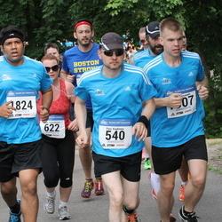 Helsinki Half Marathon - Pasi Kaukinen (540), Sandeep Mukherjee (1824)