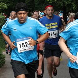 Helsinki Half Marathon - Pasi Kaukinen (540), Michael Golightly (1753), Sandeep Mukherjee (1824)