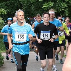 Helsinki Half Marathon - Stanley Eklund (165), Jukka Immonen (419)