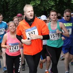 Helsinki Half Marathon - Heikki Sillanpää (1367), Sofia Wahlman (1578), Anna Österholm (1741)