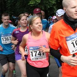 Helsinki Half Marathon - Patrik Behm (107), Heikki Sillanpää (1367), Anna Österholm (1741)