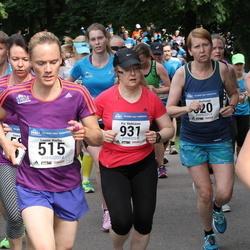 Helsinki Half Marathon - Leena Karhu (515), Pia Mykkänen (931)