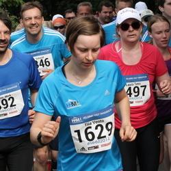 Helsinki Half Marathon - Maria Kallioranta (497), Lorenz Merk (892), Tiia Vento (1629)
