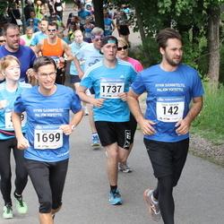 Helsinki Half Marathon - Tomas Dahlström (142), Wilhelm Von Nandelstadh (1699), Vili Äijö (1737)