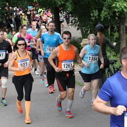 Helsinki Half Marathon - Olli Kaven (547), Mika Rubanovitsch (1261), Meri Siren (1384)