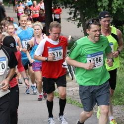 Helsinki Half Marathon - Pekka Ranta (1196), Petteri Toivanen (1510), Paavo Tomminen (1519)