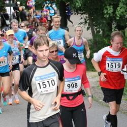 Helsinki Half Marathon - Leena Nurkse (998), Petteri Toivanen (1510), Paavo Tomminen (1519)