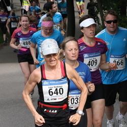Helsinki Half Marathon - Seda Ilksoz (409), Liisa Koskinen (640), Petri Martola (866)