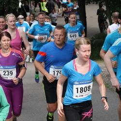 Helsinki Half Marathon - Suvi Halmepuro-Jaatinen (239), Matias Von Bell (1697), Soile Lindholm (1808)