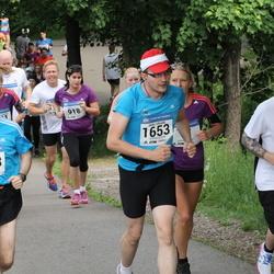 Helsinki Half Marathon - Timo Janhonen (433), Juha Tamminen (1483), Jarko Vihriälä (1653)