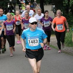 Helsinki Half Marathon - Kaisu Hienonen (314), Marko Luostarinen (821), Juha Tamminen (1483), Helka Vasarainen (1616)
