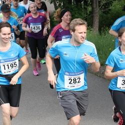Helsinki Half Marathon - Lauri Heinonen (282), Kati Huhtinen (356), Reija Randen-Brady (1195), Tuire Sulkava (1436)