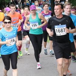Helsinki Half Marathon - Satu Lampinen (735), Janne Virtanen (1687)