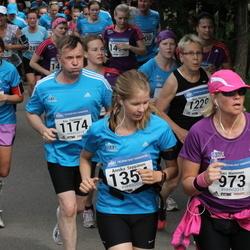 Helsinki Half Marathon - Sari Nieminen (973), Kari Pynnönen (1174), Annika Seppänen (1354)