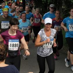 Helsinki Half Marathon - Valeria Engman (174), Konstantinos Prevedouros (1150), Marja Toikka (1505), Joachim Seminck (1865), Sini Viskari (1880)