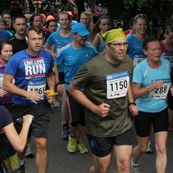 Helsinki Half Marathon - Marian Heiskanen (288), Konstantinos Prevedouros (1150), Joachim Seminck (1865)
