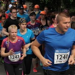 Helsinki Half Marathon - Anne Ritavuo (1243), Riikka Sternberg (1420), Hennele Vertainen (1633), Niina Eveliina Kenttälä (1783)