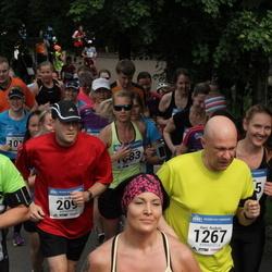 Helsinki Half Marathon - Luc Gingras (209), Mikael Rehnström (1211), Harri Ruokola (1267)