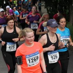 Helsinki Half Marathon - Jaana Jääskeläinen (475), Nerminka Muratovic (926), Hanna Ruotsalainen (1269), Hannah Schigutt (1345)