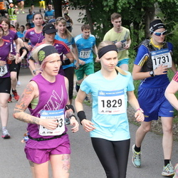 Helsinki Half Marathon - Anu Källman (690), Minna Sofia Ylinärä (1731), Kati Nironen (1829)